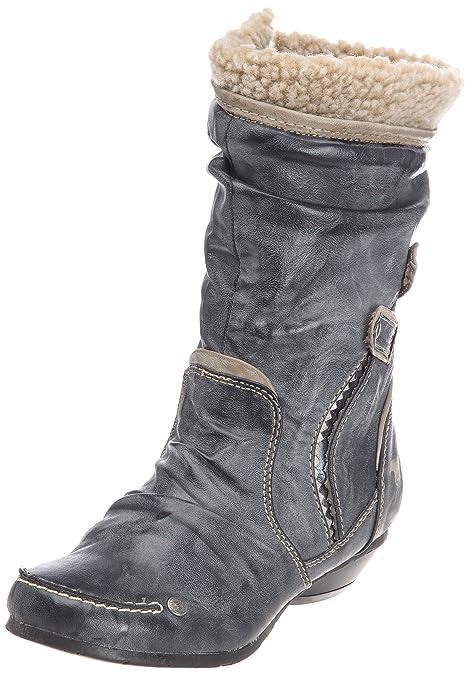 MUSTANG Zapatos 5006601, BOTAS MUJER - Azul, 32 EU: Amazon.es: Zapatos y complementos