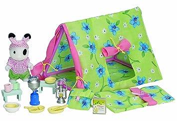 Sylvanian Families Ingridu0027s C&ing Set  sc 1 st  Amazon UK & Sylvanian Families Ingridu0027s Camping Set: Amazon.co.uk: Toys u0026 Games