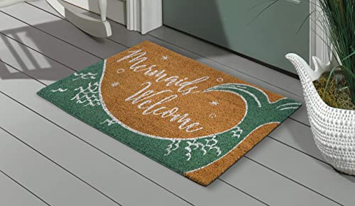 Grasslands Road Mermaids Welcome Doormat