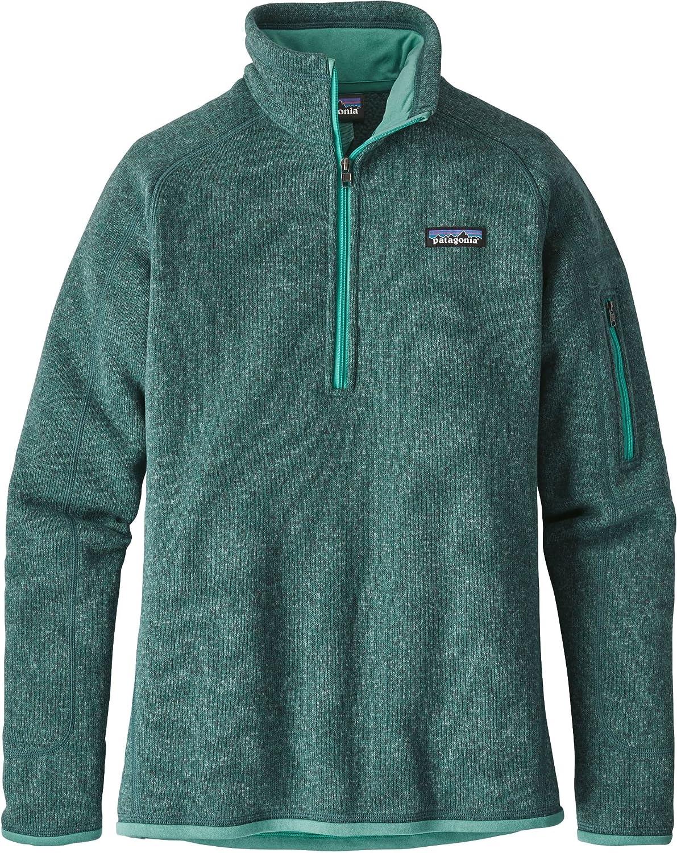 Patagonia Women's Better Sweater 1/4-Zip Fleece Jacket 25617-RWL-L