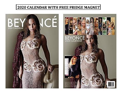 Beyonce Calendar 2020 Amazon.: Beyonce Calendar 2020 + Beyonce Refrigerator Mag