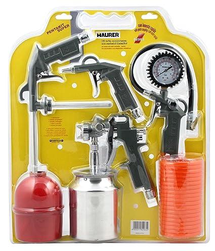 Maurer 17020068 Kit de 5 accesorios para compresor gris