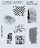 Stampers Anonymous Tim Holtz Cling Rubber Stamp Set, Ultimate Grunge