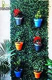 Dream International Green Leaves Grass Wall Hanging And Floor Mat. (1.3 X 6 Feet)