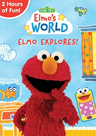 amazon com sesame street elmo s world elmo explores ryan dillon