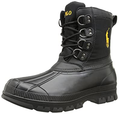 Amazon.com   Polo Ralph Lauren Men s Crestwick, Black Slicker Yellow ... 862e8b885a9a