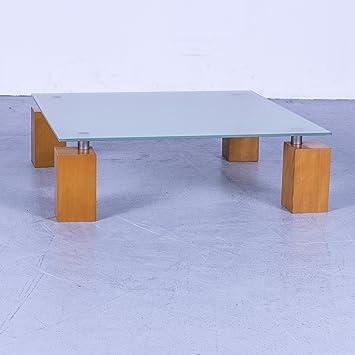 Amazonde Ligne Roset Squadra Designer Couchtisch Glas Holz Füße