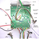 100W DIY STEREO AUDIO AMPLIFIER CIRCUIT KIT BOARD BASS TREBLE 4440 IC