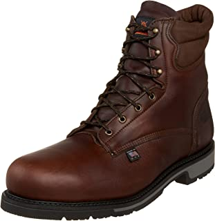 """product image for Thorogood Men's American Heritage 8"""" Classic Plain Toe, Safety Toe Boot"""