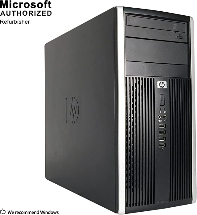 HP Compaq Pro 6300 Tower Desktop PC, Intel Quad Core i7-3770 up to 3.9GHz, 16G DDR3, 1T SSD, WiFi, Bluetooth 4.0, DVD, Windows 10 64-Multi-Language Support English/Spanish/French (Renewed)