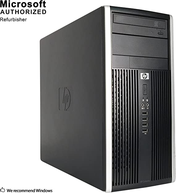HP Compaq Pro 6200 Mini PC Business High Performance Tower Desktop Computer(Intel Core i5-2400 3.1GB