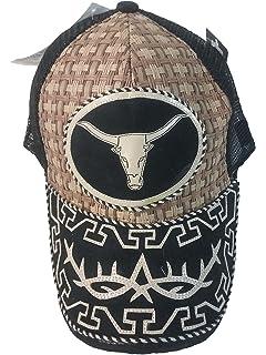 Gorra Charra Western Cowboy GO ID 121 Negro/Beige