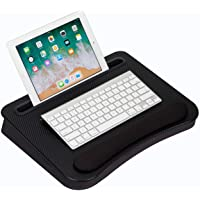 LapGear Smart-e Memory Foam Lap Desk - Black Carbon - Fits up to 15.6 Inch laptops and most tablet devices - Style No…