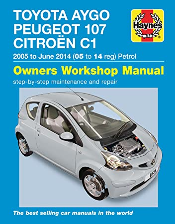 toyota aygo repair manual haynes manual workshop manual 2005 2014 rh amazon co uk Toyota Aygo GoFun Yourself Toyota Aygo Review