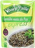 Vivien Paille Lentilles Vertes du Puy 250 g - Lot de 6