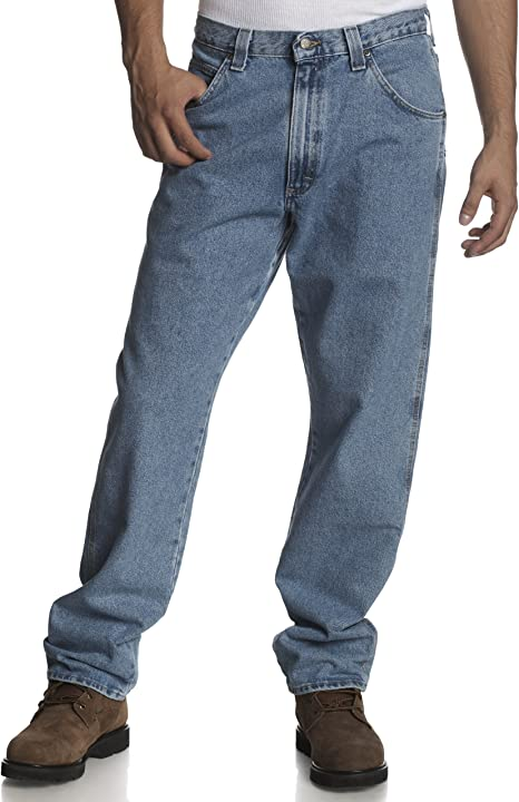 Wrangler Mens Riggs Workwear Fleece Lined Relaxed Fit Jean