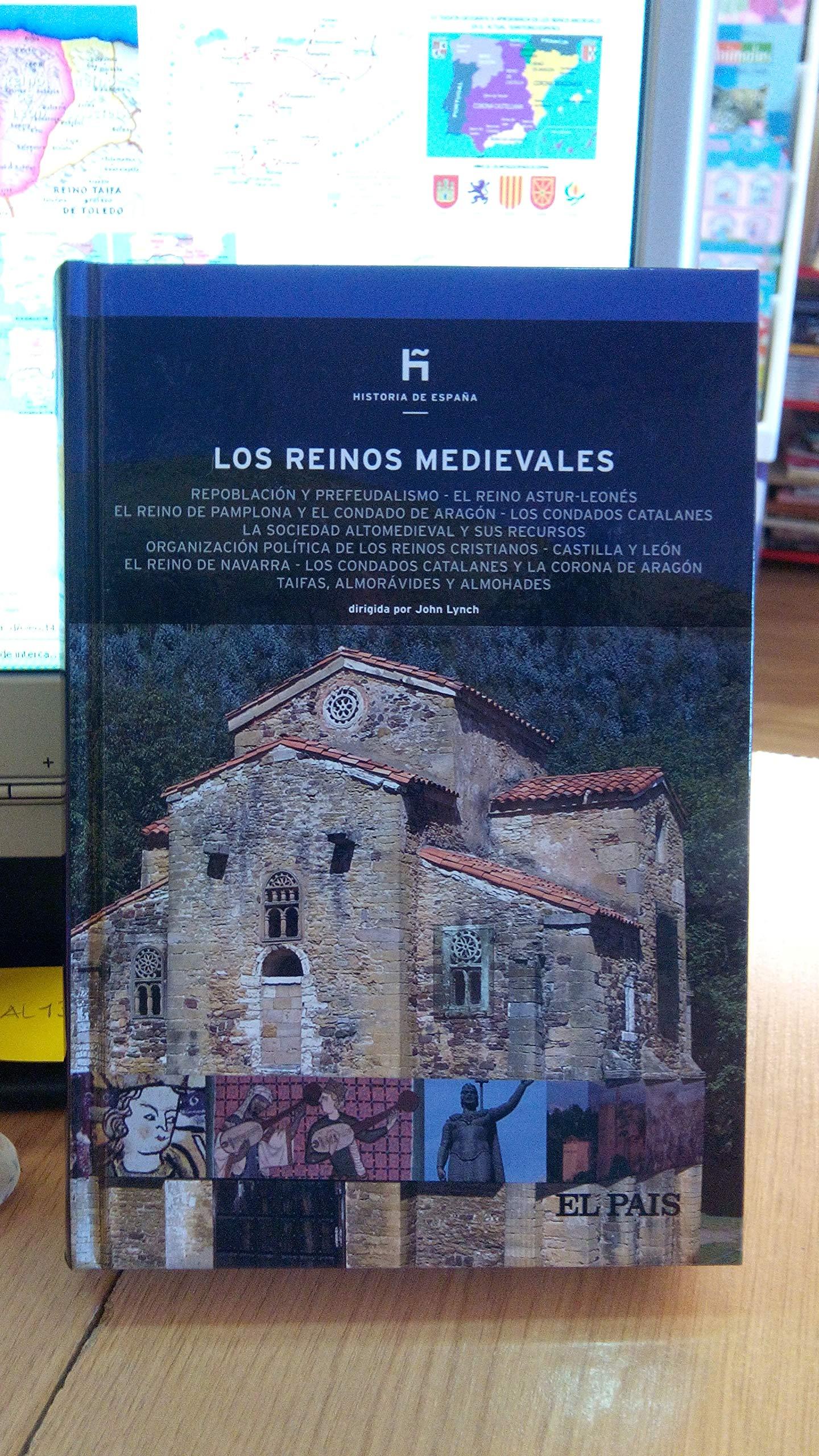 Los reinos medievales repoblación y prefeudalismo el Reino Astur leonés el Reino de Pamplona y el Condado de Aragón: Amazon.es: Carrasco Juan: Libros