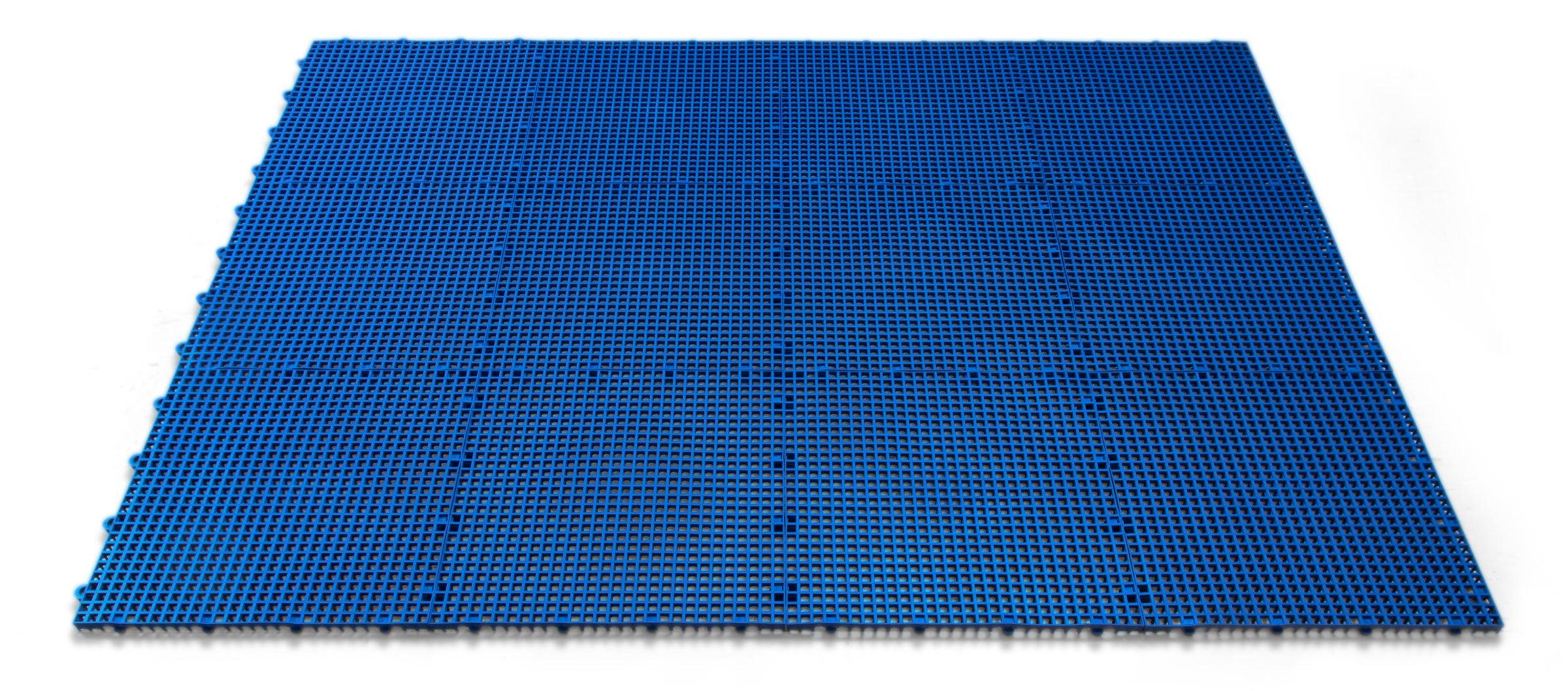 DuraGrid STBRIK Comfort Interlocking Modular Multi-Use Safety Floor Matting, Single Tile, Brick Red by DuraGrid® (Image #2)