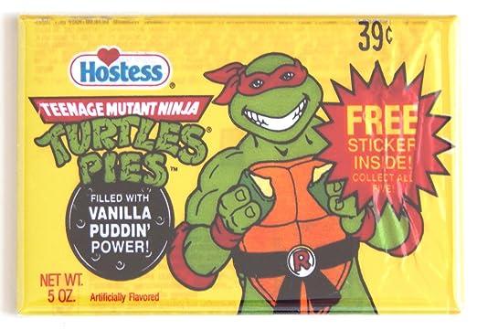 Tarta de Pudding de las Tortugas Ninja (Raphael) imán para ...