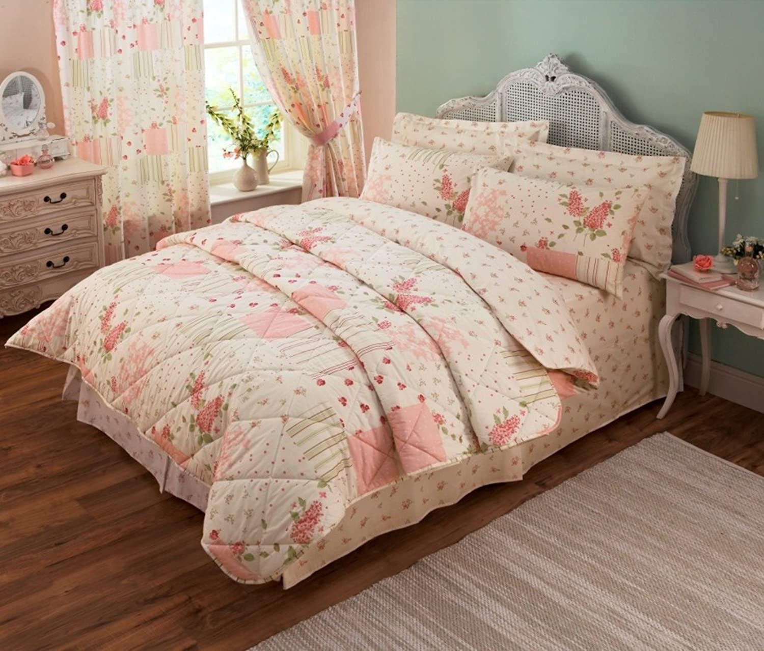 Pink Bed Sets And Curtains Birdhouses Duvet Cover Girls Pink Bedding White Pink Duvet With