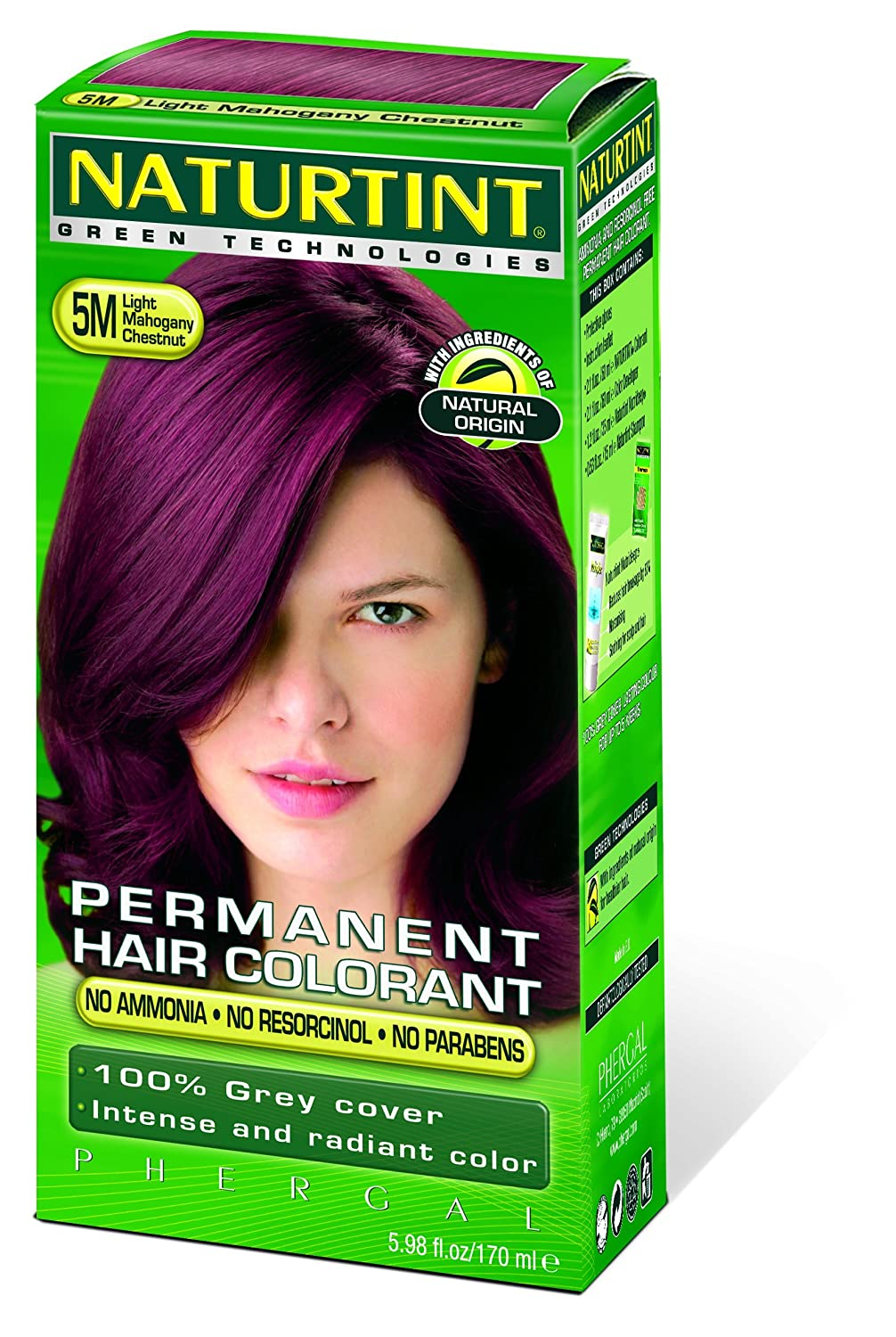 Amazon.com: Naturtint Hair Color Permanent, I-7.77 Teide Brown ...