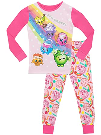 Shopkins Girls Shopkins Pajamas Size 10