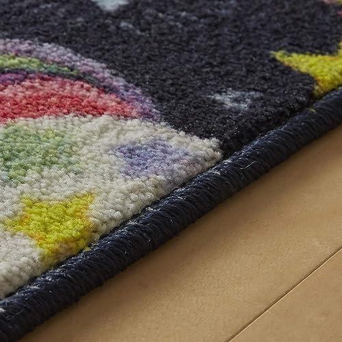 Mohawk Home Unicorn Wish Multicolored Area rug, 8 x10 , Grey Pink