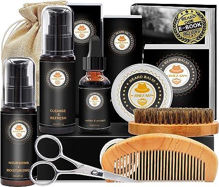 【GRAN VALOR con BONIFICACIÓN EXTRA】:Estos productos de barba se empaquetan en una CAJA DE REGALOS de