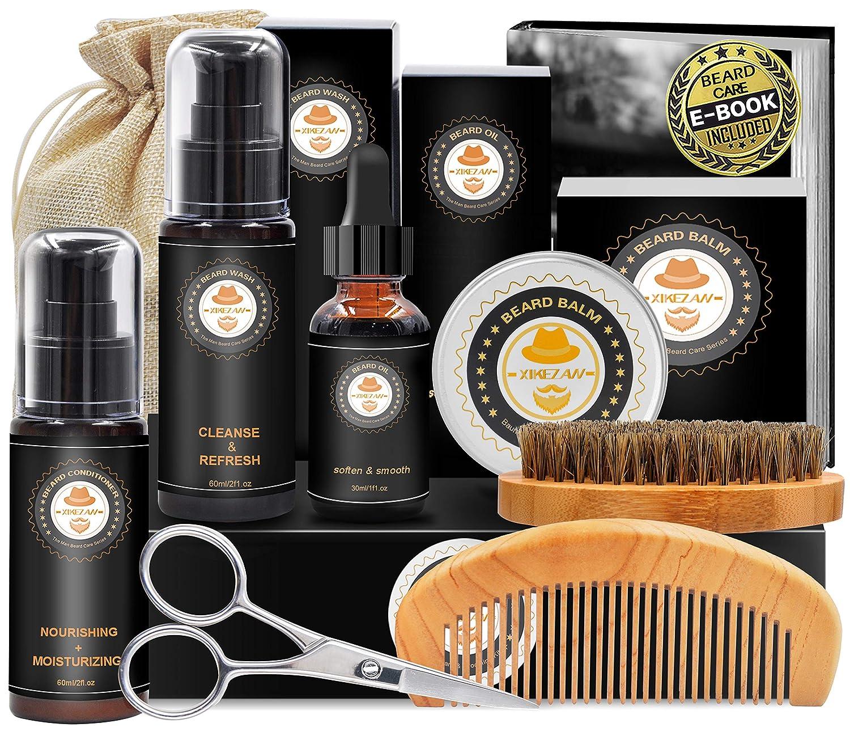 XIKEZAN Upgraded Beard Grooming Kit $13.44 Coupon