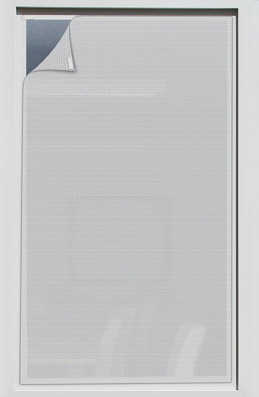 EFIXS Sonnenschutz für Außen ohne Bohren - Farbe  grau - Breite  60,1 bis 80 x Höhe  100,1 bis 120cm - Montage  selbstklebender Druckverschluss - SCHEIBENFIXS auf Maß