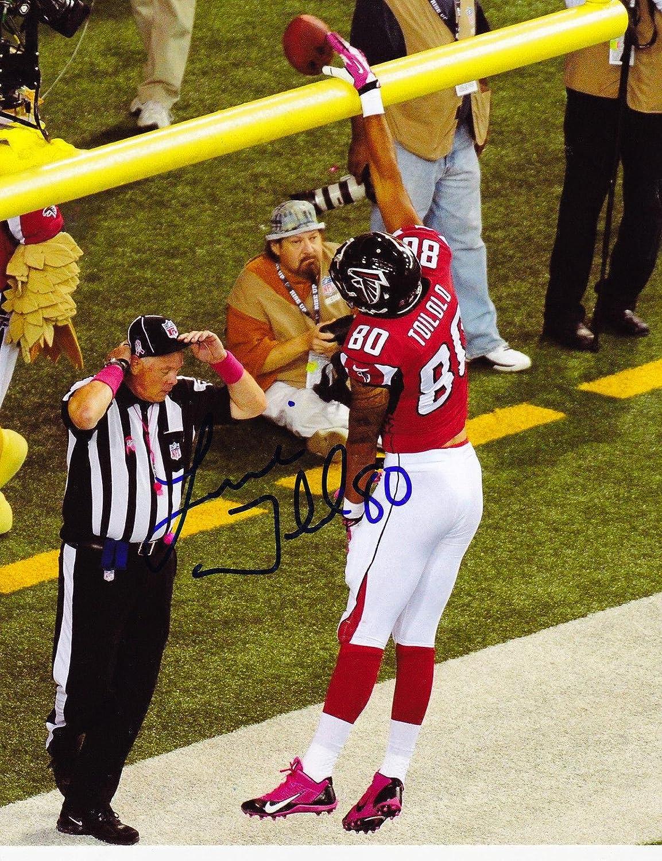 Autographed Levine Toilolo Photo - 8x10 - Autographed NFL Photos Sports Memorabilia