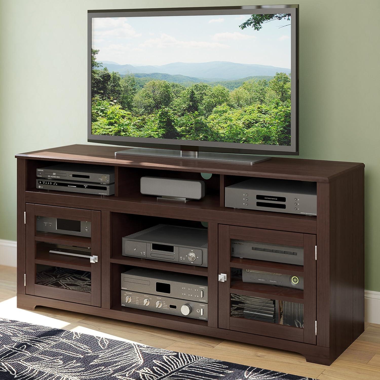 amazon com sonax e 9462 bw west lake 60 inch television bench