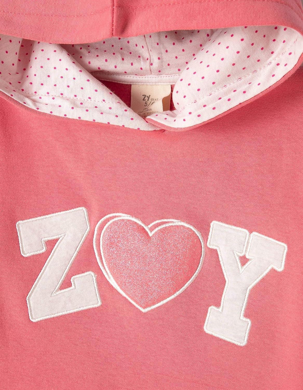 Felpa Bambina Zippy Sweatshirt Hooded Fleece