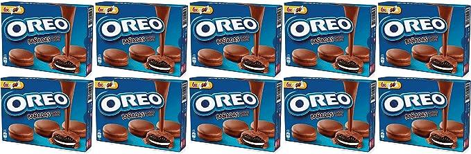 Oreo bañadas chocolate con leche 246 gr. - [Pack de 10]: Amazon.es ...