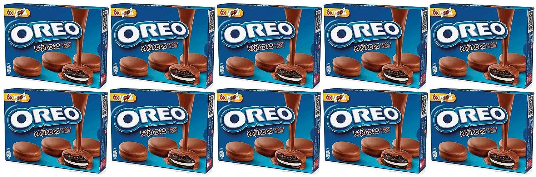 Oreo bañadas chocolate con leche 246 gr. - [Pack de 10]: Amazon.es: Alimentación y bebidas