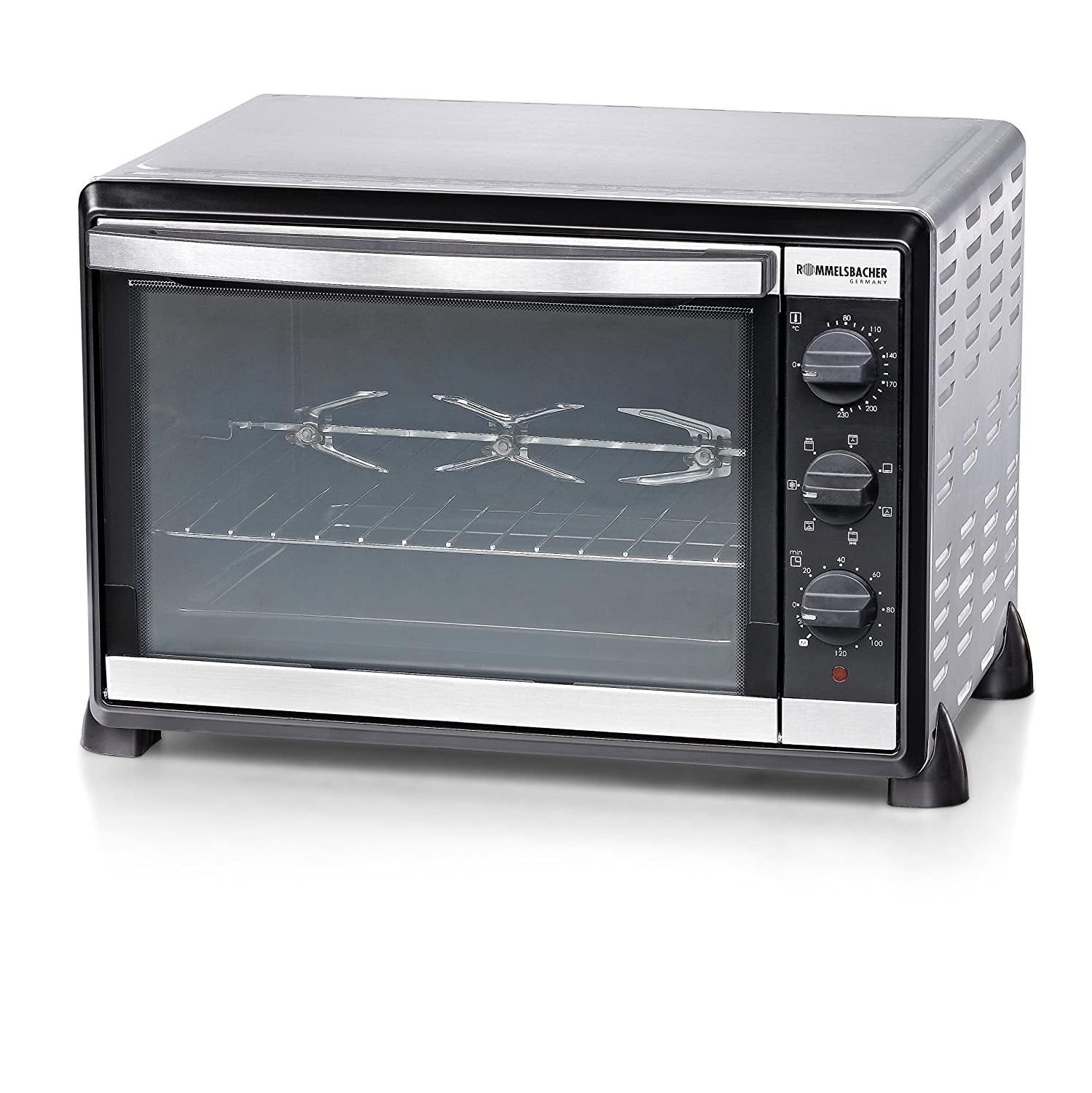 Rommelsbacher Stainless Steel Baking Oven and Rotisserie Grill