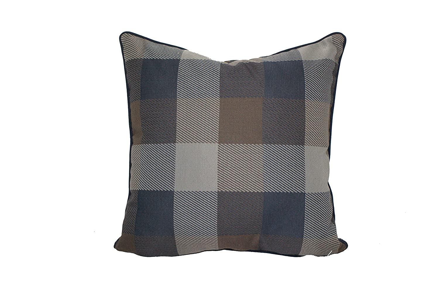Amazon.com: Urban Loft by Westex Plaid Feather Filled ...