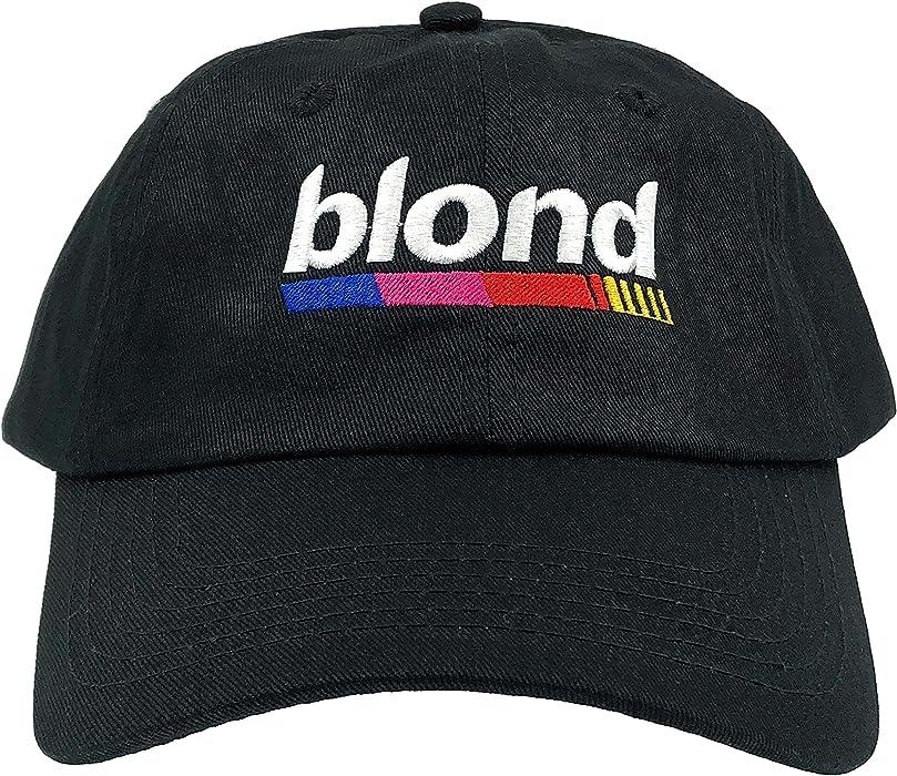 7d20493aa449f Drumsyb Blond Hat Blonde Dad Hat Baseball Cap Hip Hop Embroidered  Adjustable (Black)