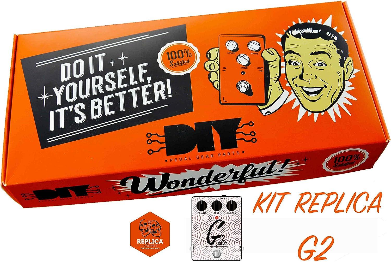 diypedalgearparts® Kit G2Replica (basato sobre Cornish G2)