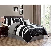 Luxlen Modern 7 Piece Bed/Comforter in a Bag - 21297-21331