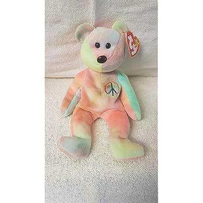 Ty Beanie Babies - Peace Bear: Toys & Games