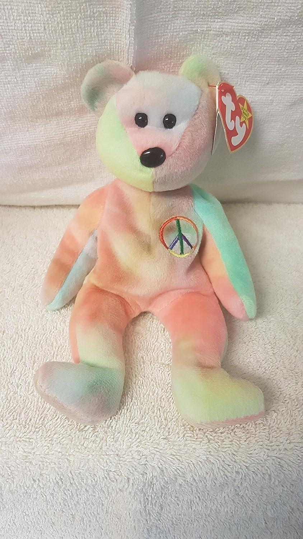 Ty Beanie Babies - Peace Bear