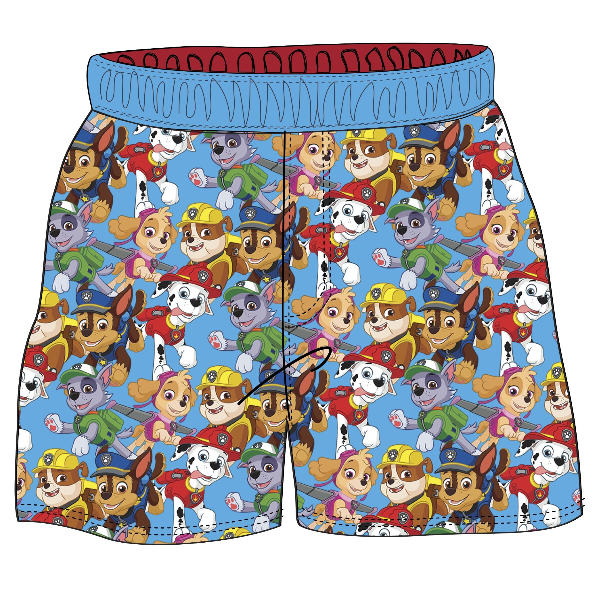 7533e4d932 Nickelodeon Toddler Boys' Paw Patrol Swim Shorts, Multi, 2T