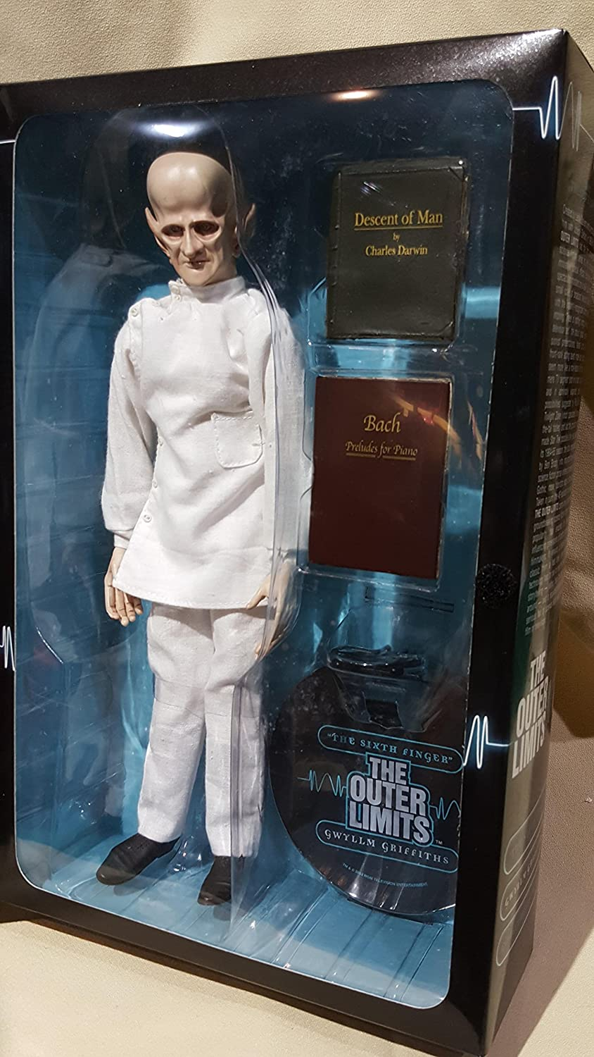 The Outer Limits TV Show Future Man 12 Action Figure from in Original Box w/Accessories! by the sixth finger