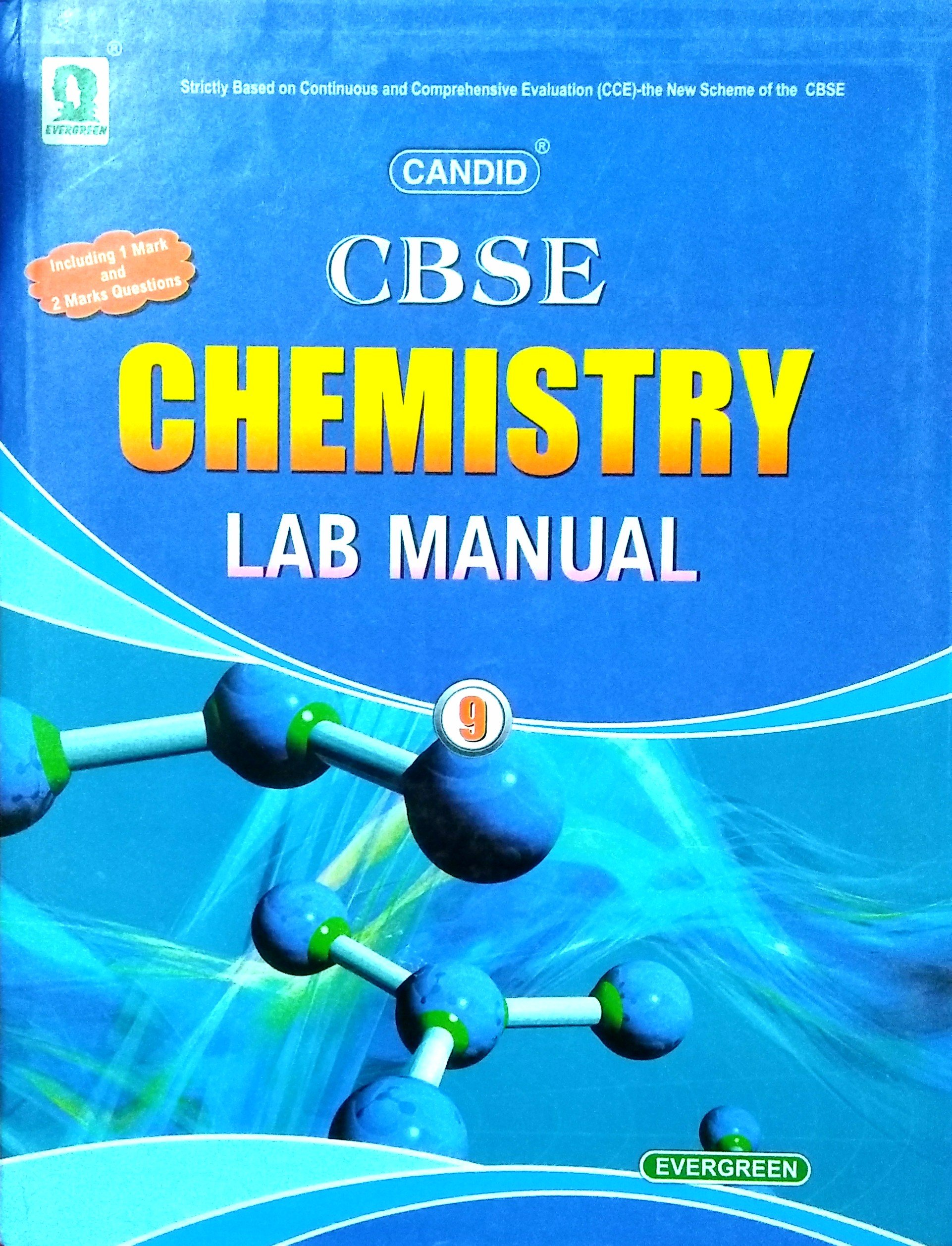 EVERGREEN CANDID CHEMISTRY LAB MANUAL FOR CLASS 9 CBSE STUDENTS: Amazon.in:  PRADEEP SINGH: Books