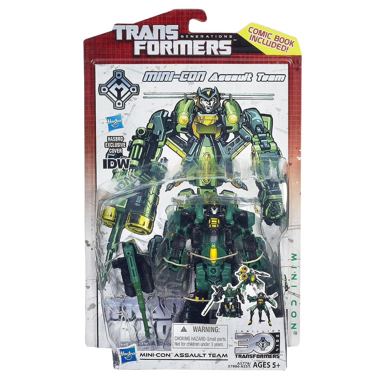 Transformers Generations 30th Anniversary Deluxe Class Mini-Con Assault Team Figure Hasbro A5779000