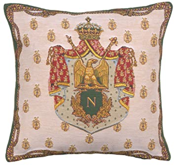 Amazon.com: Napoleón escudo Europea Funda de cojín: Home ...