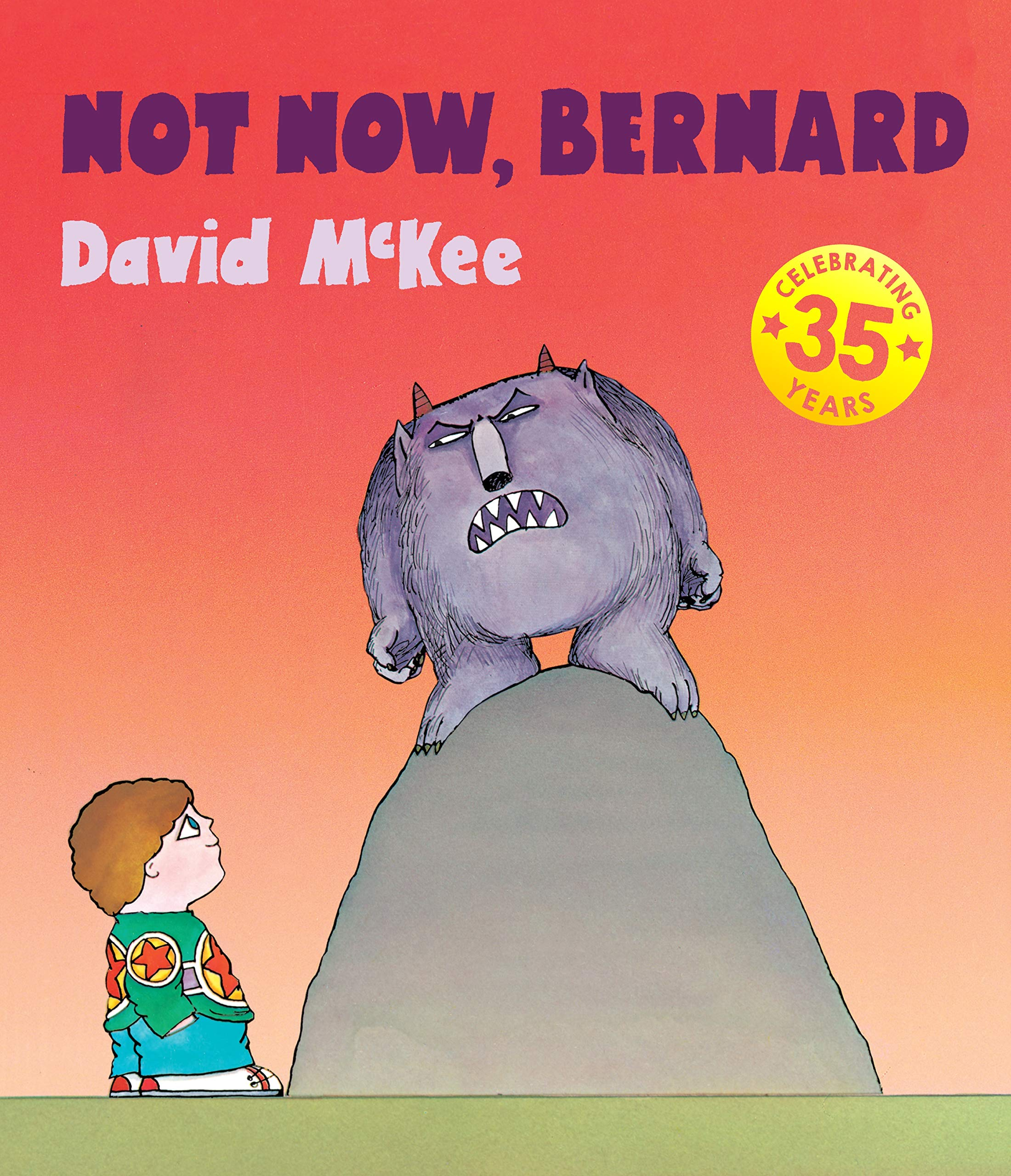 Not Now, Bernard: Amazon.co.uk: McKee, David: Books