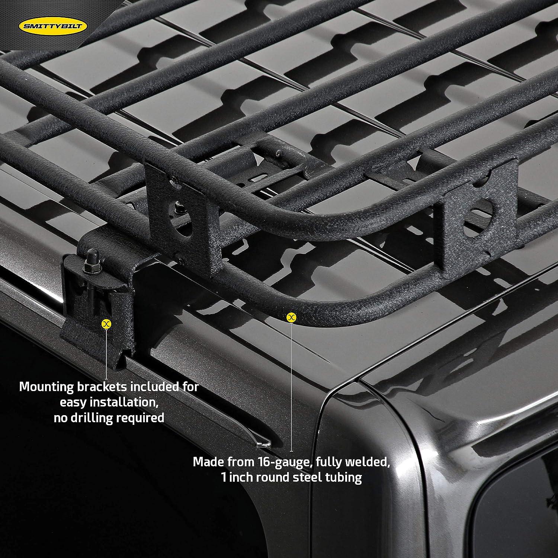 Smittybilt 45454JL Defender Rack for 2018 Jeep Wrangler JL 4-Door