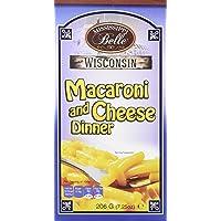 MISSISSIPPI BELLE Macaroni/Fromage 206 g - Lot de 8
